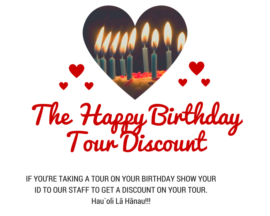 The Happy Birthday Tour Discount