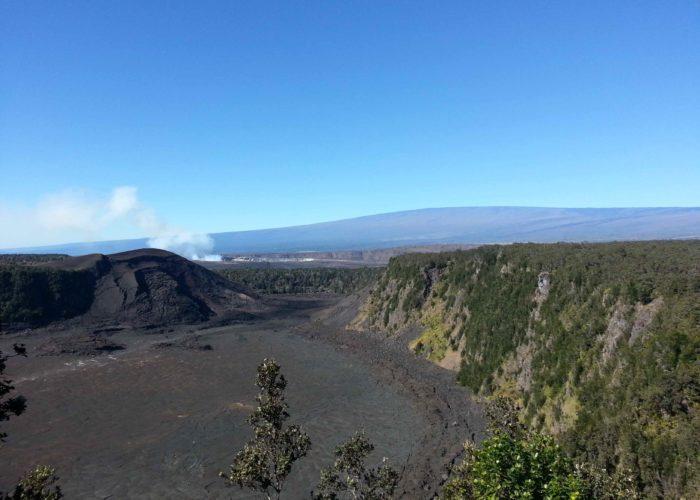 Kilauea Iki Crater daytime