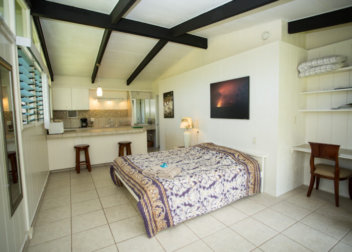 Deluxe Suite:  Private bathroom and kitchenette