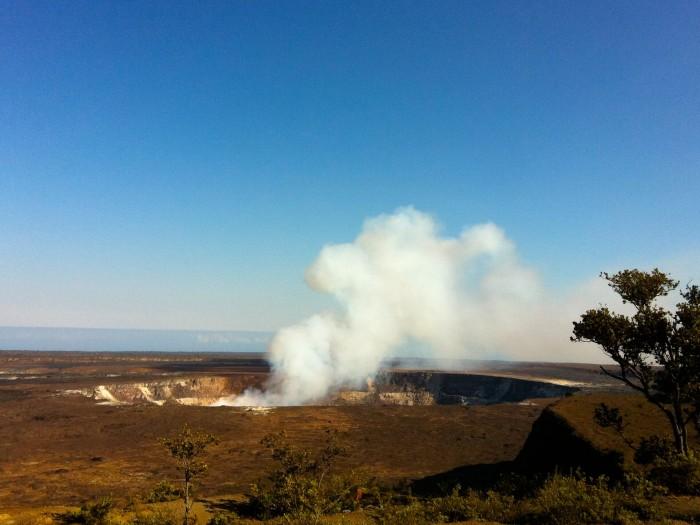 Halemaumau Crater Daytime