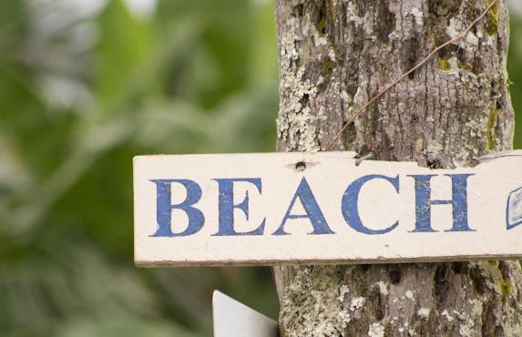 beautiful Hawaiian beach nearby