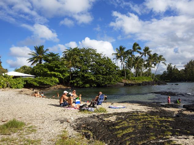 Brown's Beach Hilo Hawaii