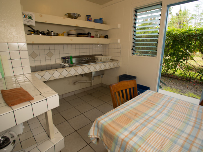 Kitchenette in our 3 Bedroom suites